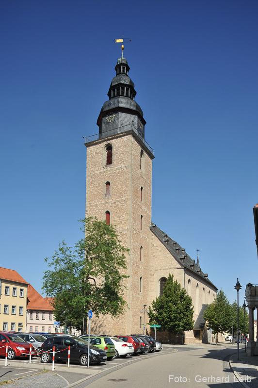 Sondershausen Trinitatis Turm www