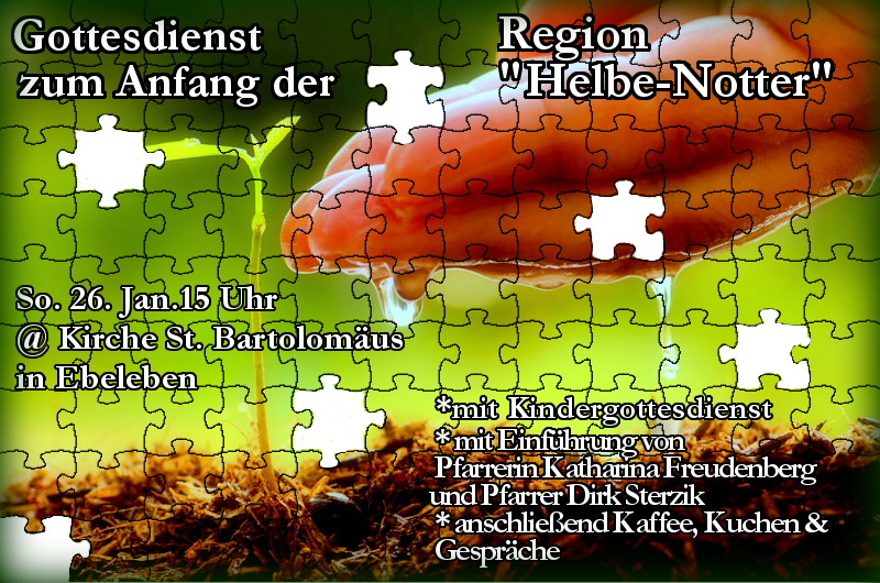 Helbe-Notter Regionalgottesdienst