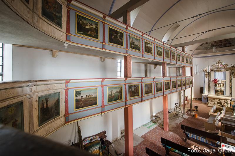 Abtsbessingen Kirche Innenansicht www
