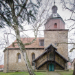 Kirche Mehrstedt Außenansicht www